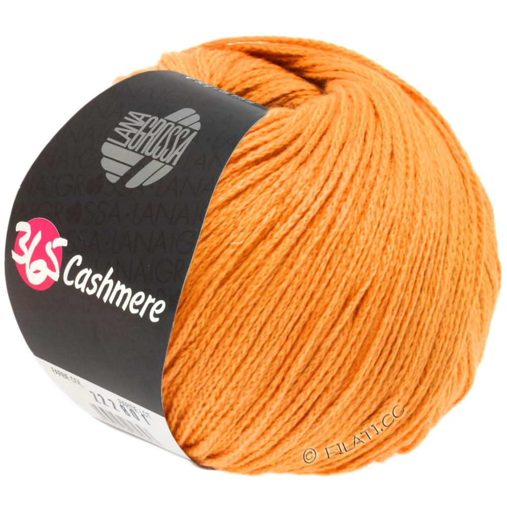 Lana Grossa 365 CASHMERE   39-oranje