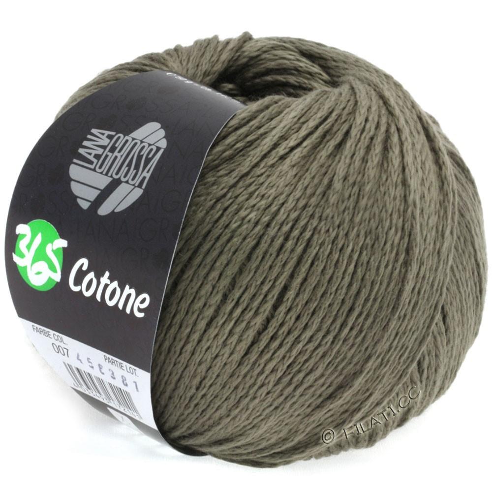 Lana Grossa 365 COTONE | 07-grijs bruin