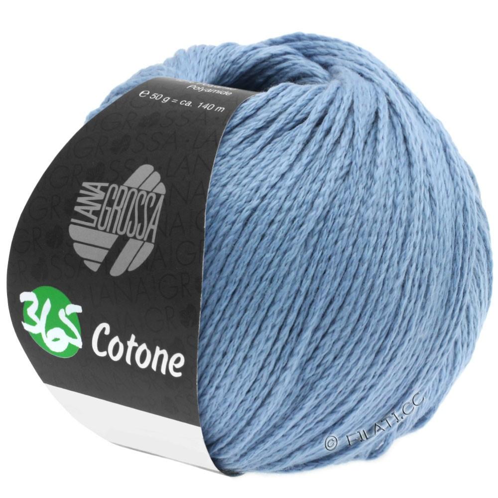 Lana Grossa 365 COTONE | 35-grijs blauw
