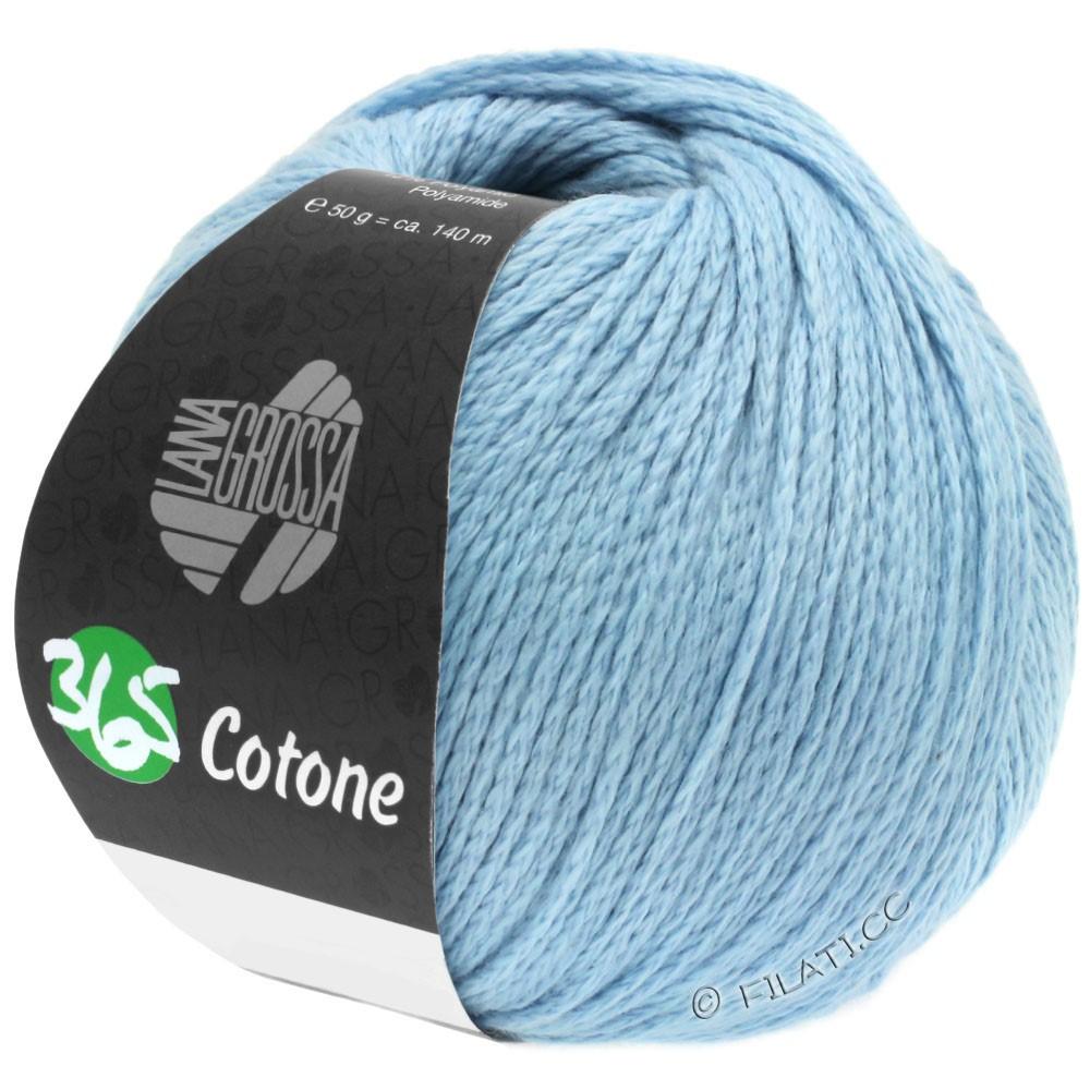 Lana Grossa 365 COTONE | 36-licht blauw