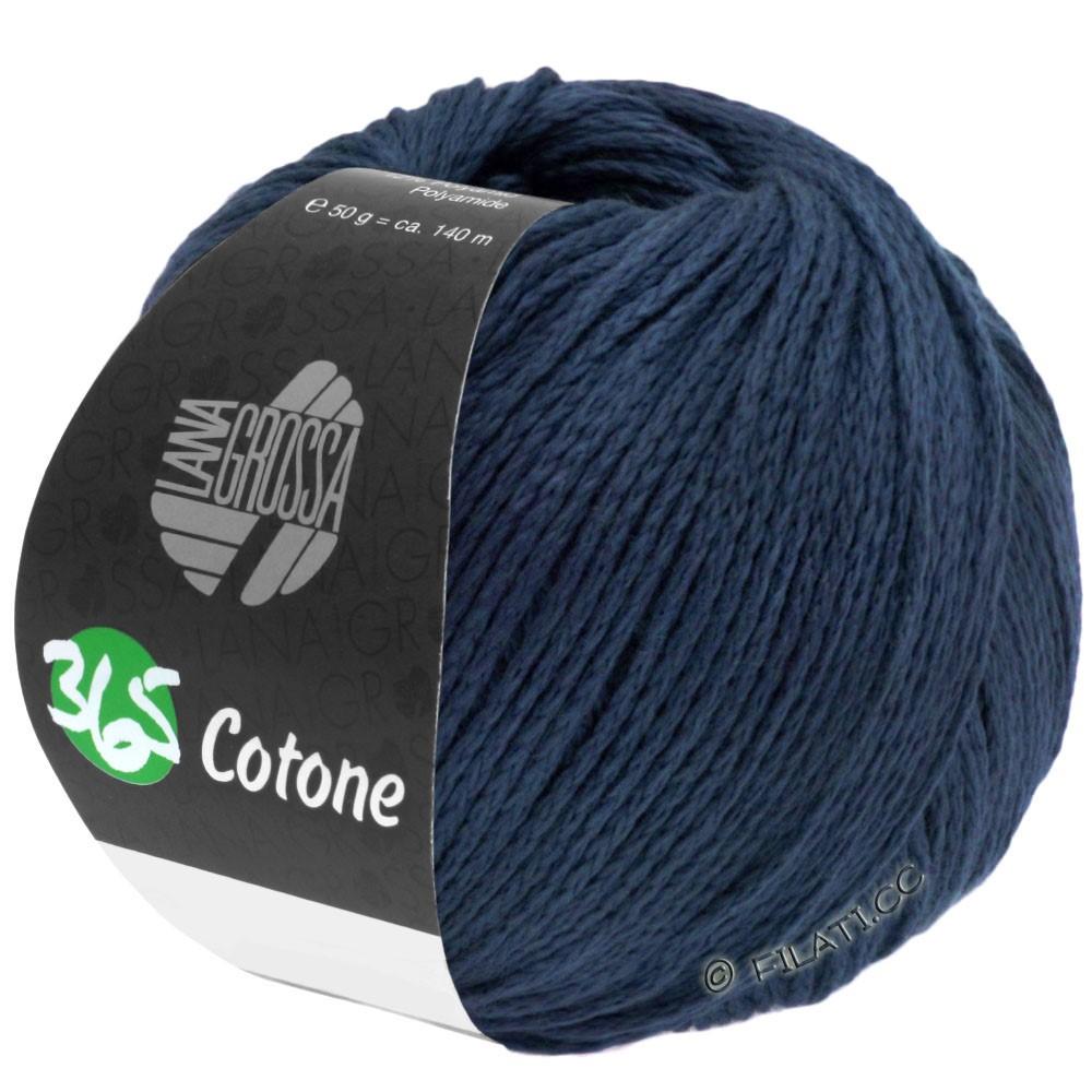 Lana Grossa 365 COTONE | 51-nacht blauw