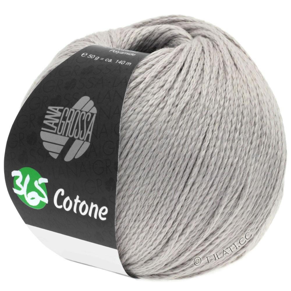 Lana Grossa 365 COTONE | 52-zilvergrijs