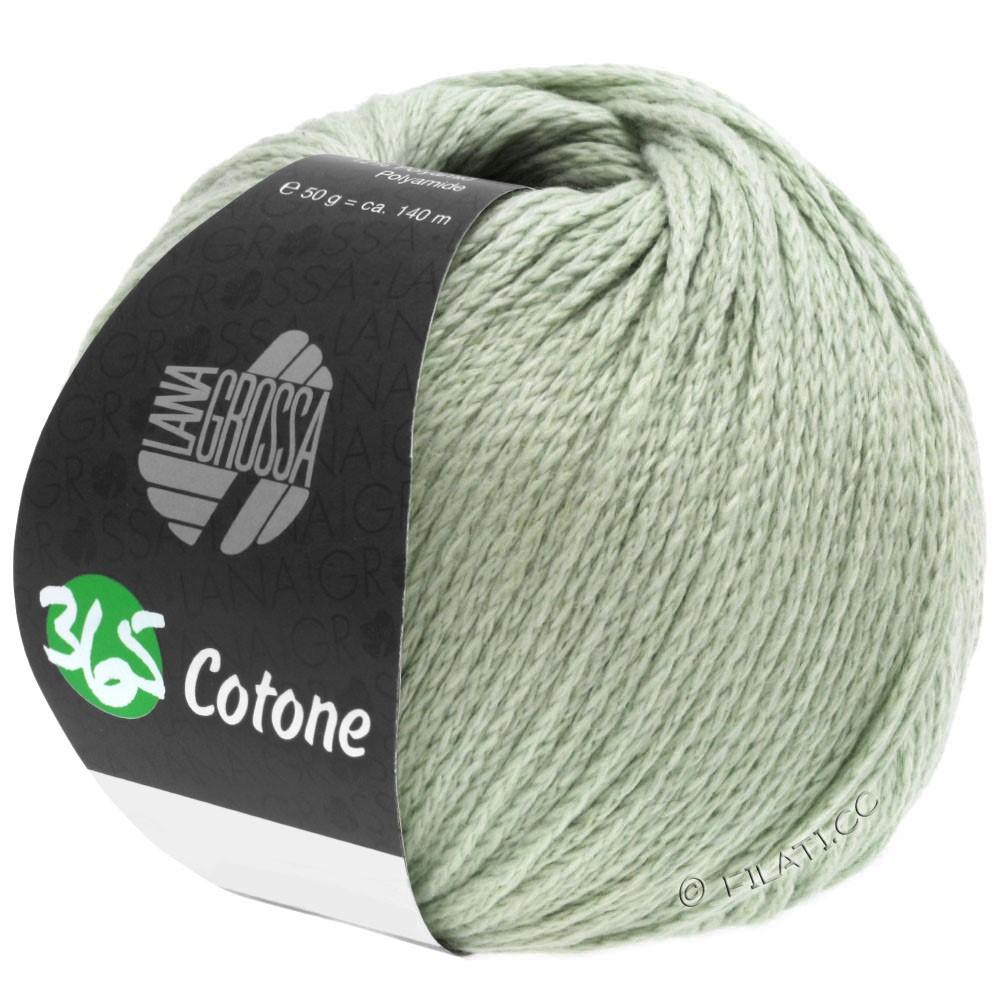 Lana Grossa 365 COTONE | 53-grijs groen