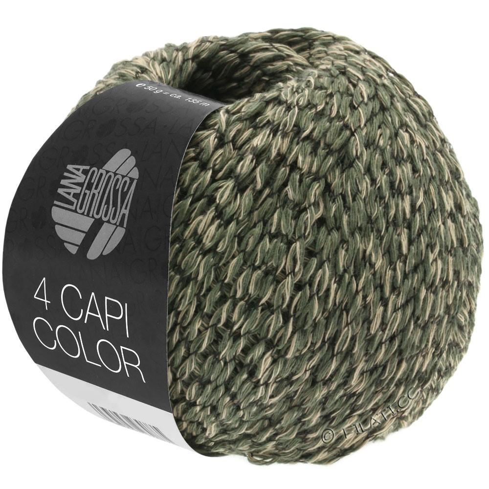 Lana Grossa 4 CAPI Color | 103-zand/jagersgroen