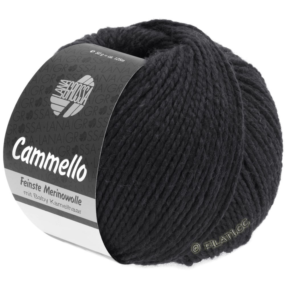 Lana Grossa CAMMELLO | 16-zwart