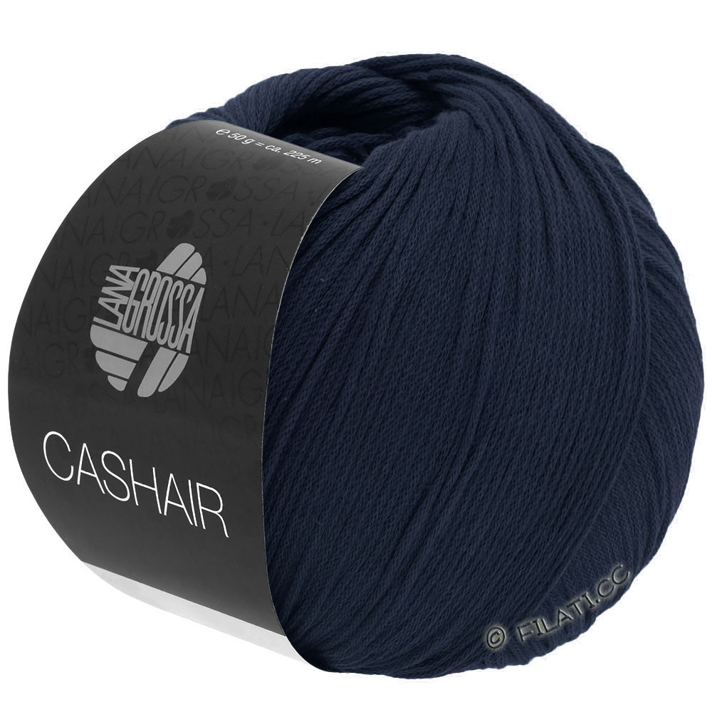 Lana Grossa CASHAIR | 15-nacht blauw