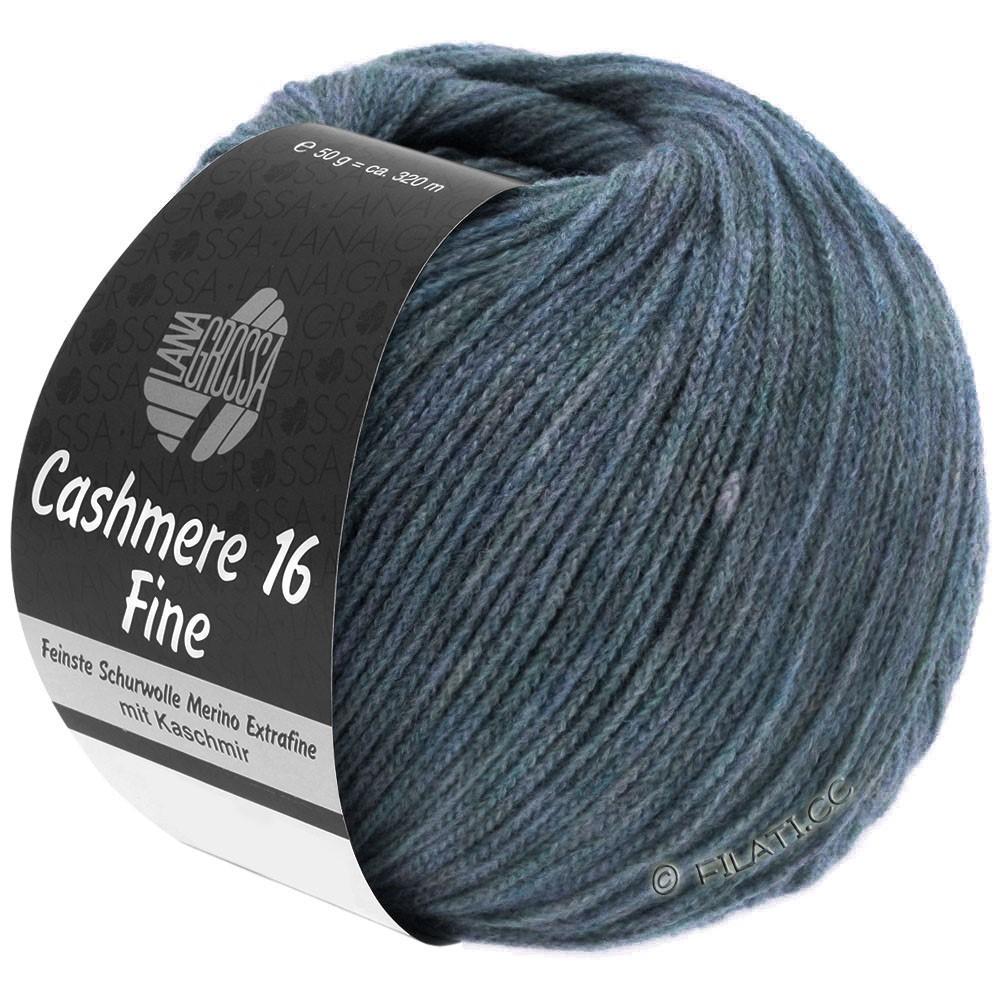 Lana Grossa CASHMERE 16 FINE Uni/Degradé | 005-grijs blauw