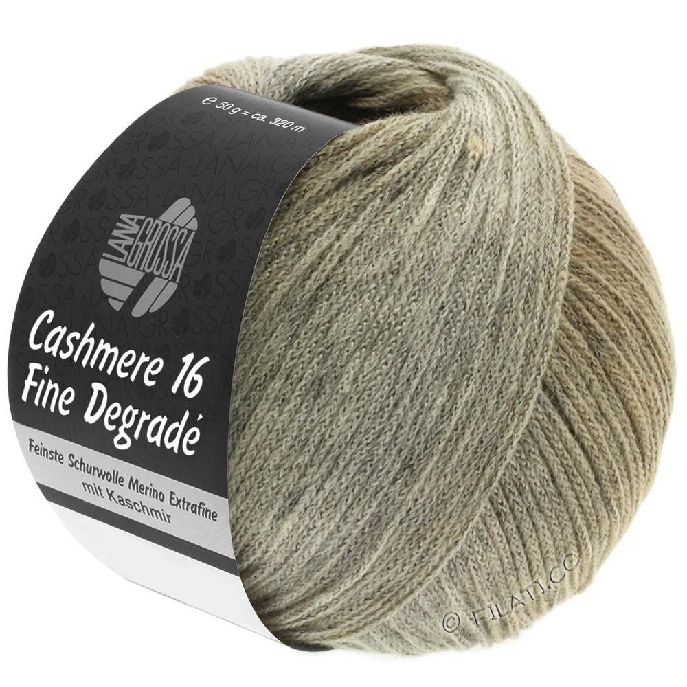 Lana Grossa CASHMERE 16 FINE Uni/Degradé | 107-grège/beige/kameel