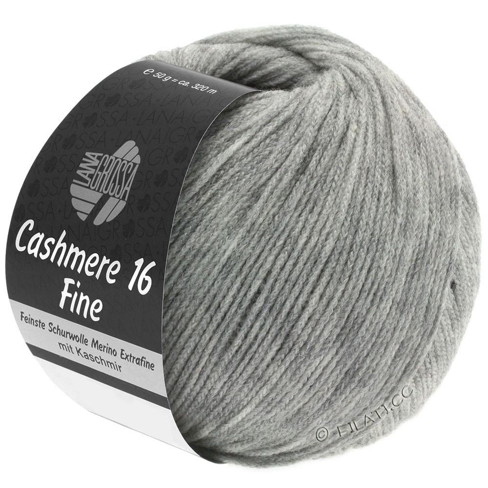 Lana Grossa CASHMERE 16 FINE Uni/Degradé | 015-licht grijs