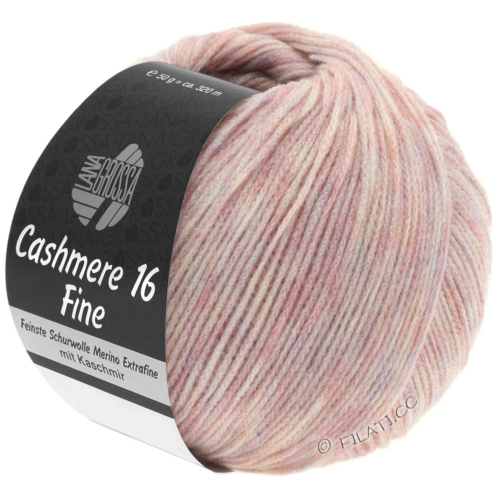 Lana Grossa CASHMERE 16 FINE Uni/Degradé | 019-rose