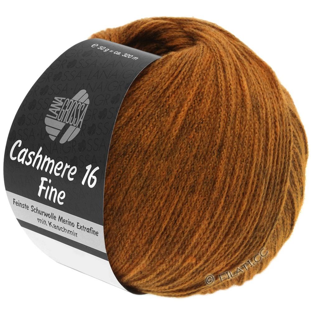 Lana Grossa CASHMERE 16 FINE Uni/Degradé | 021-cognac