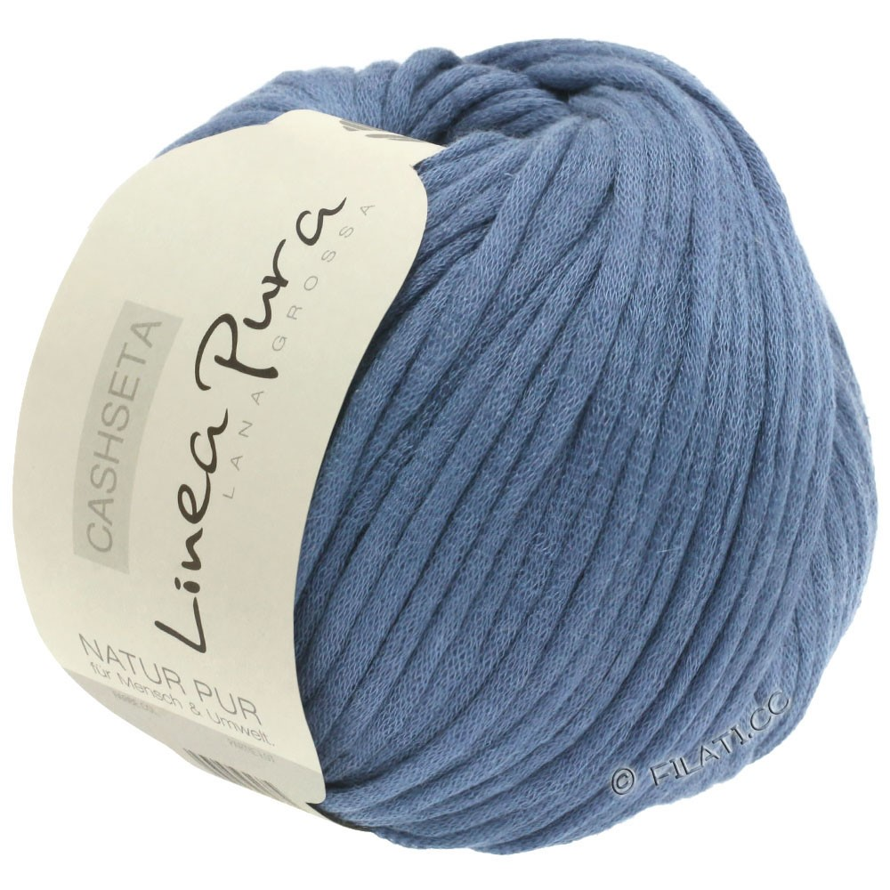 Lana Grossa CASHSETA (Linea Pura) | 11-jeans blauw