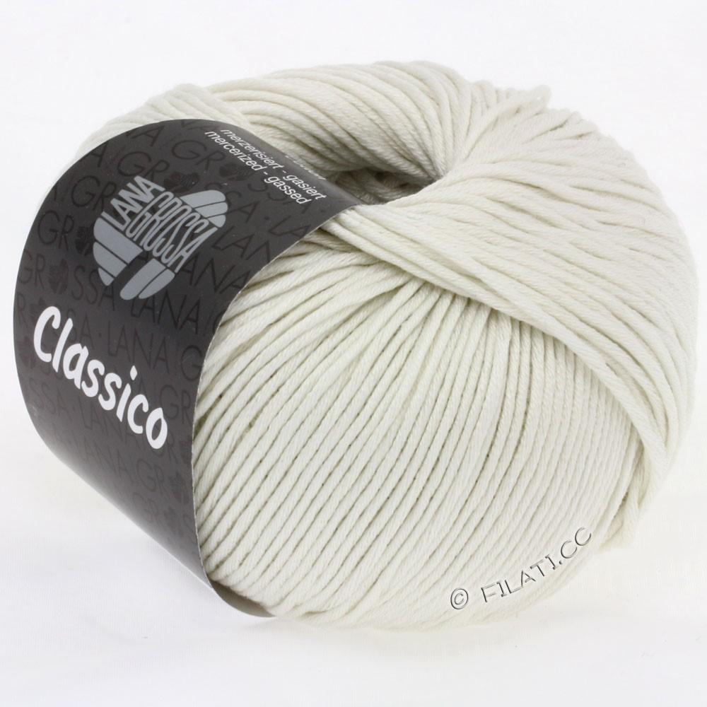 Lana Grossa CLASSICO Uni | 08-ruwe witte