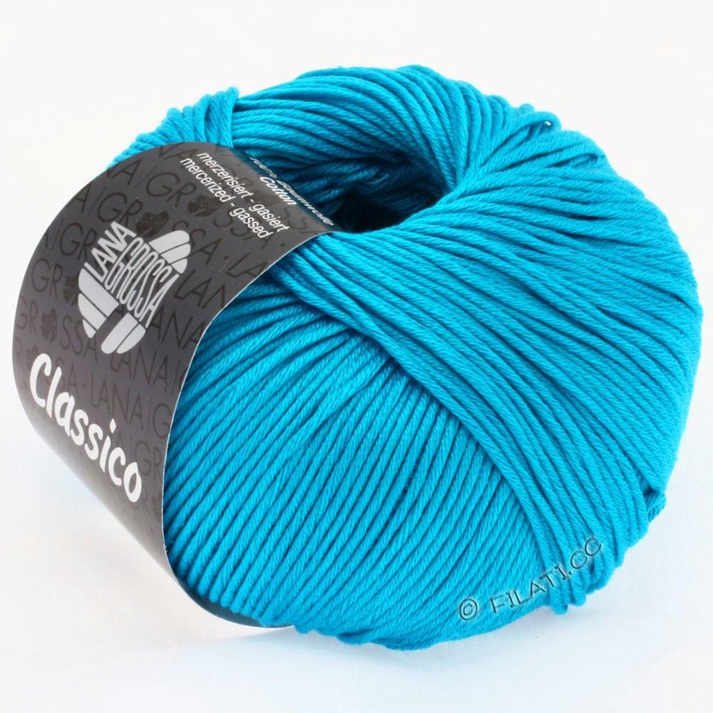 Lana Grossa CLASSICO Uni | 14-turkoois blauw
