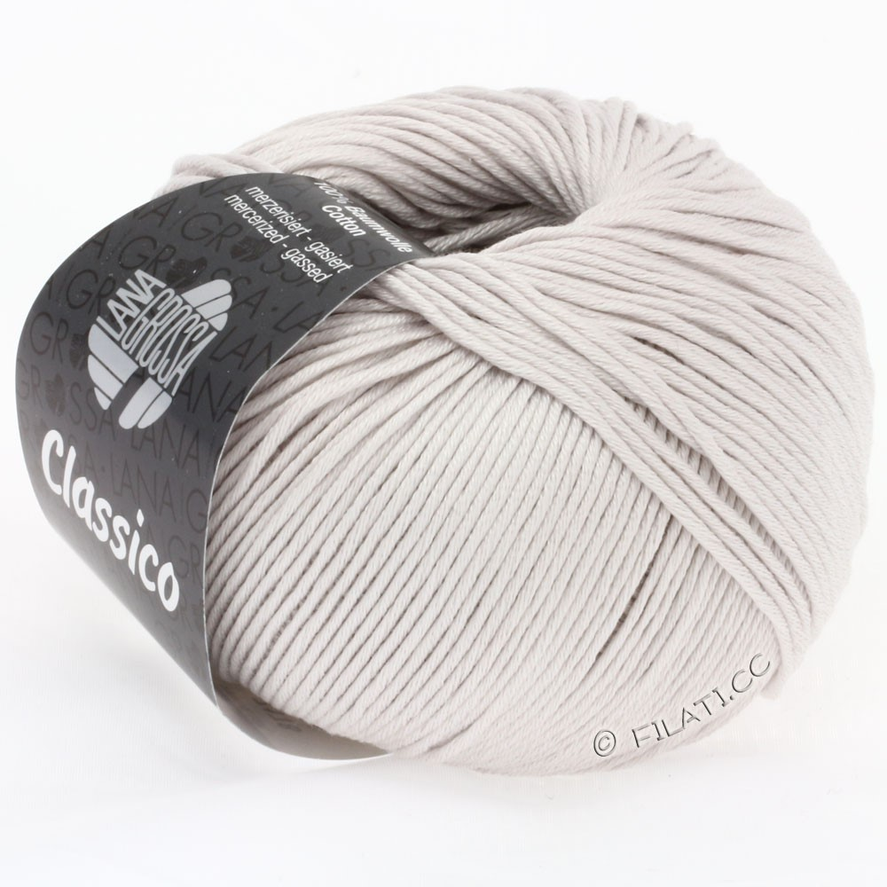 Lana Grossa CLASSICO Uni | 20-licht beige