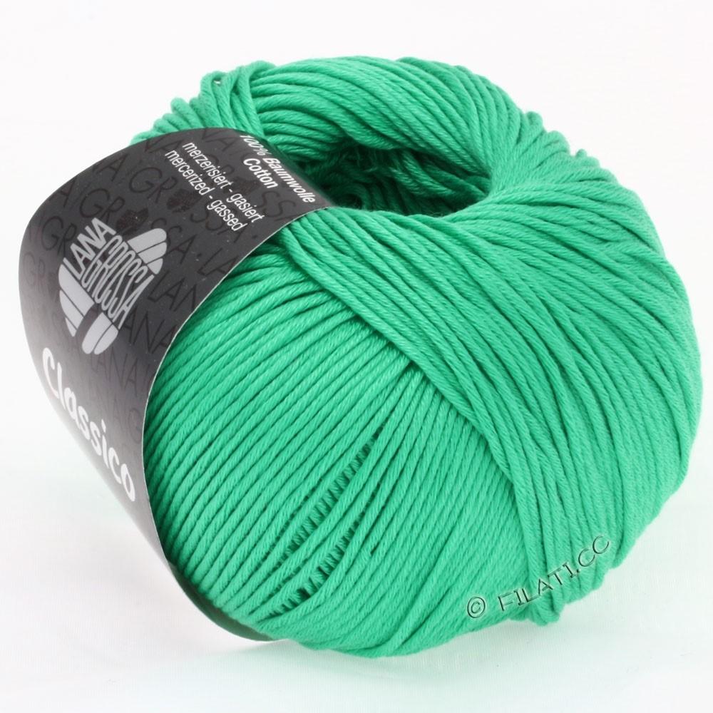 Lana Grossa CLASSICO Uni   25-smaragd