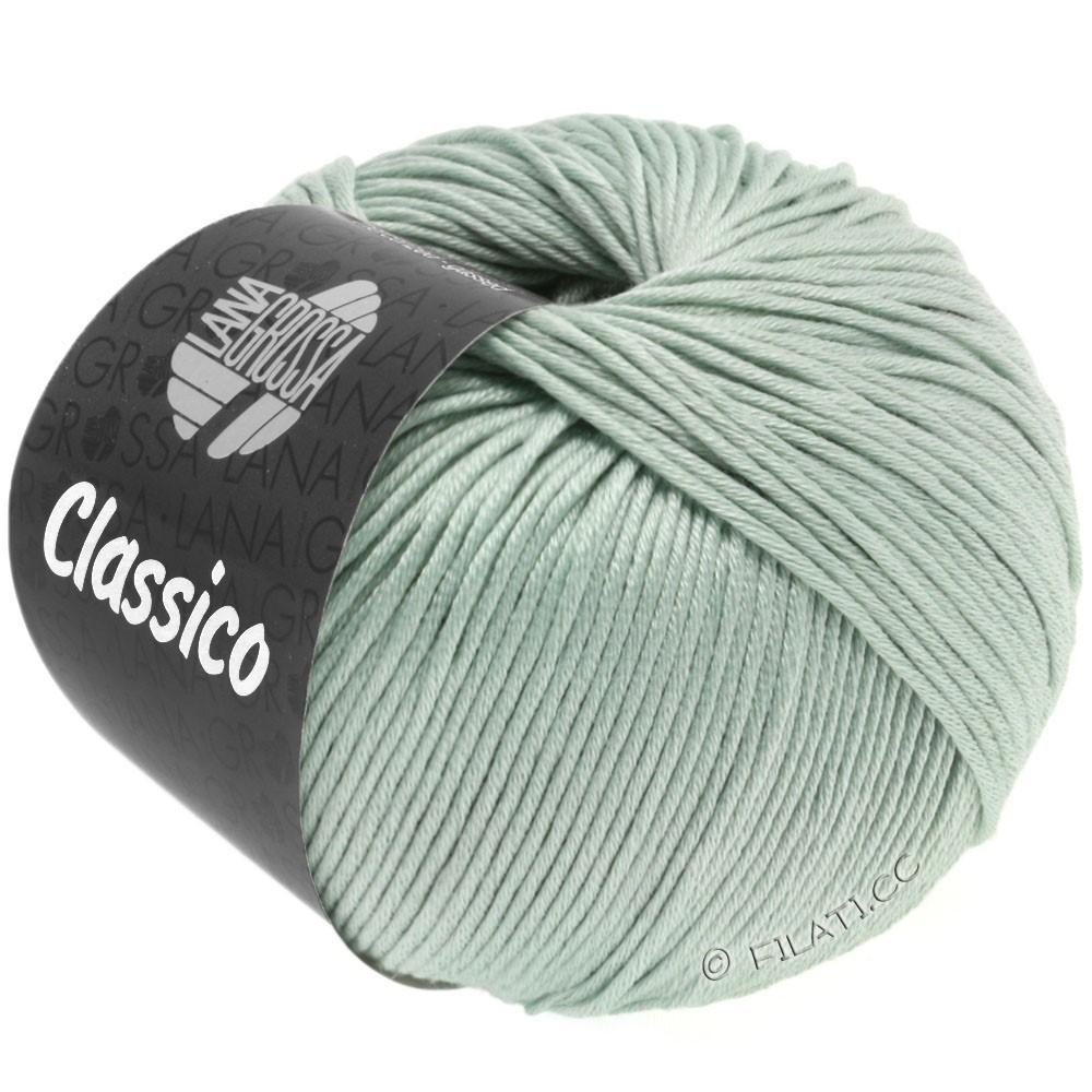 Lana Grossa CLASSICO Uni | 38-grijs groen