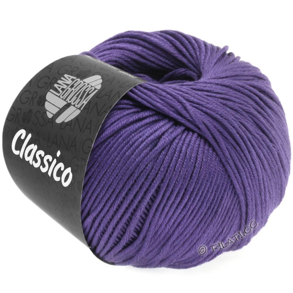 Lana Grossa CLASSICO Uni | 42-blauw violet