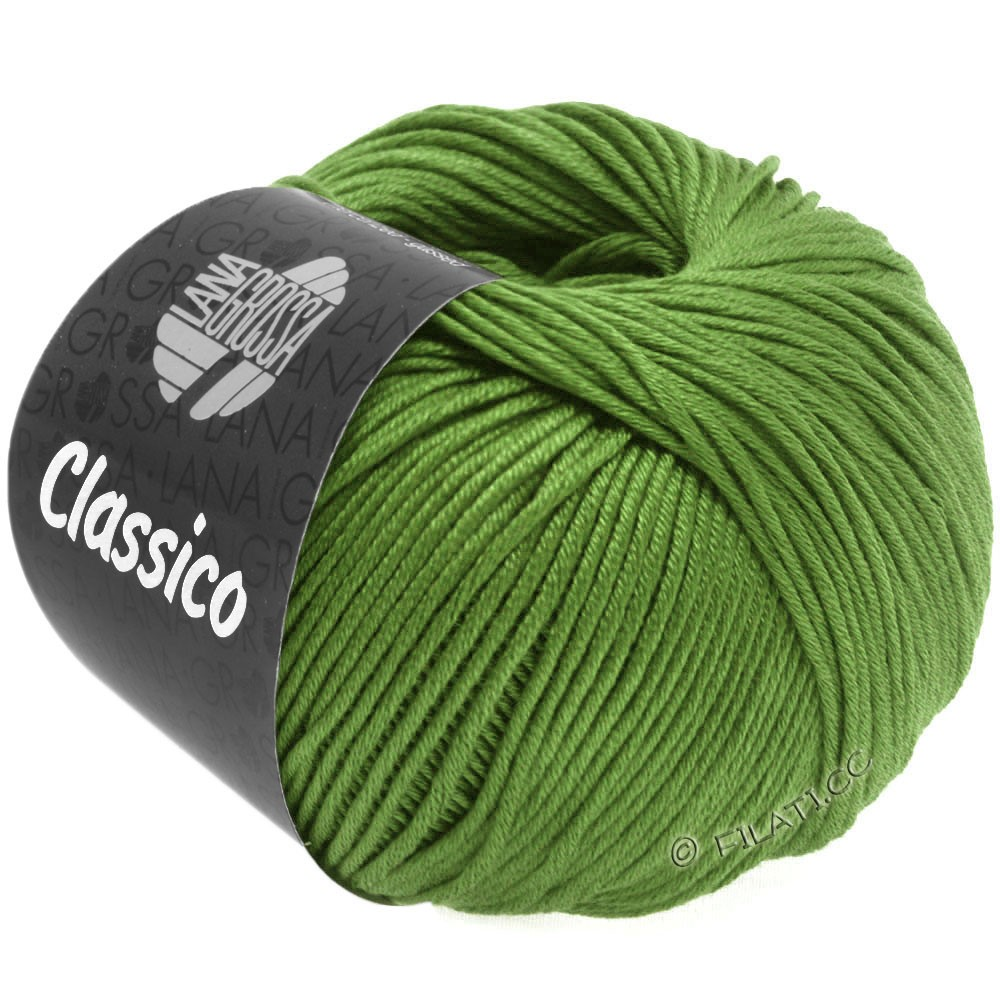 Lana Grossa CLASSICO Uni | 48-licht groen