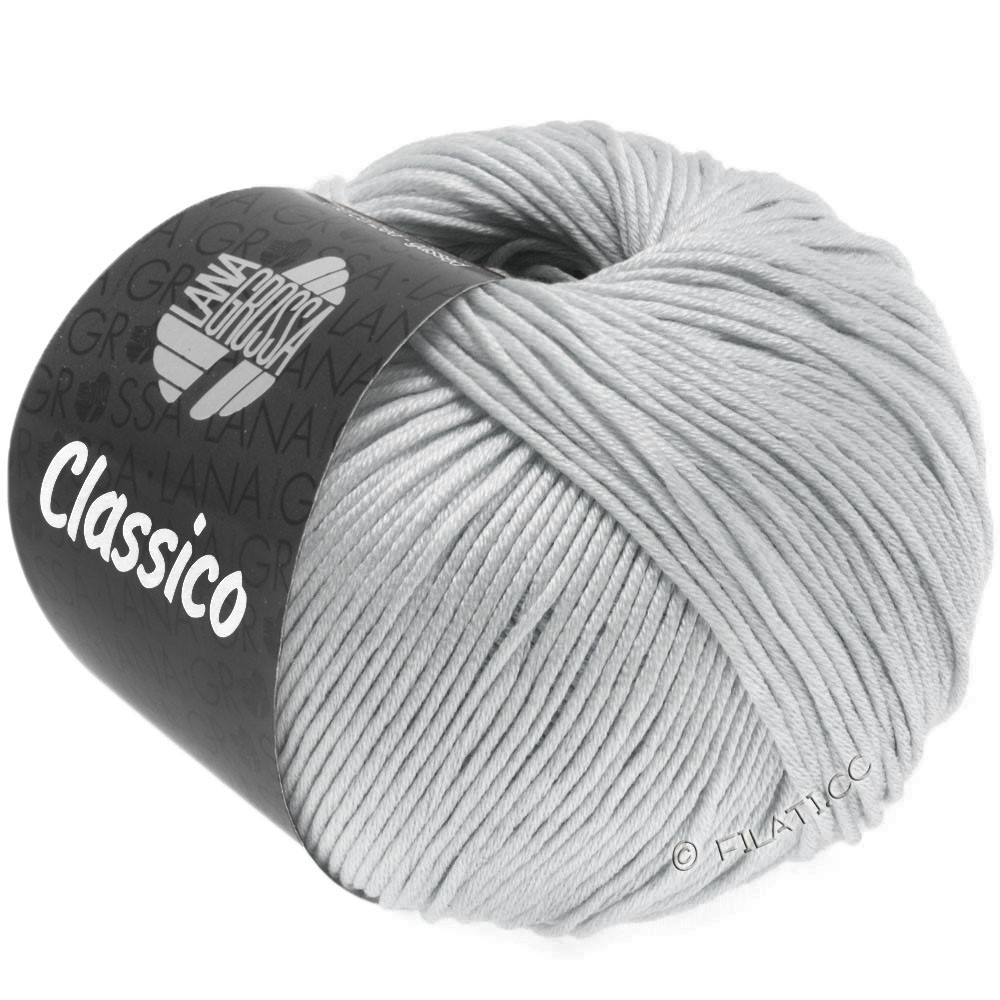 Lana Grossa CLASSICO Uni | 57-zilvergrijs