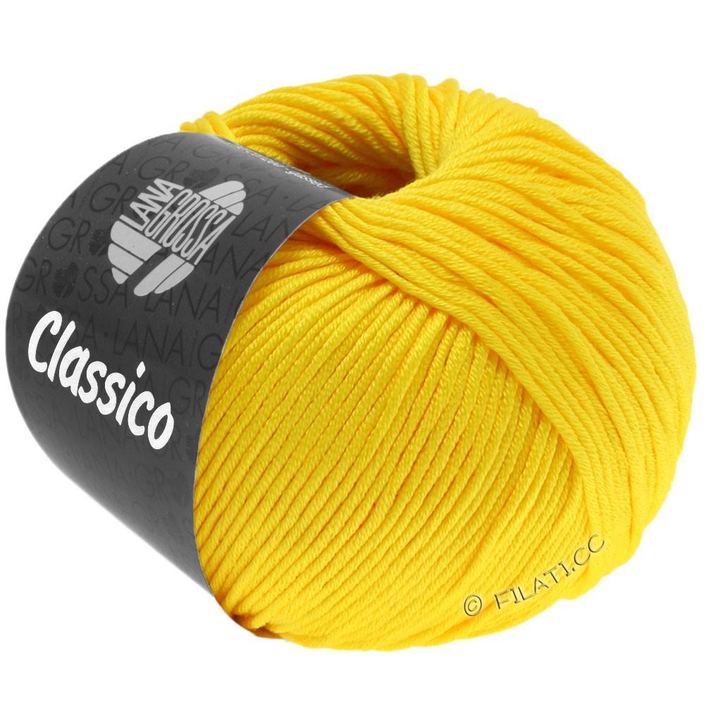 Lana Grossa CLASSICO Uni | 58-geel