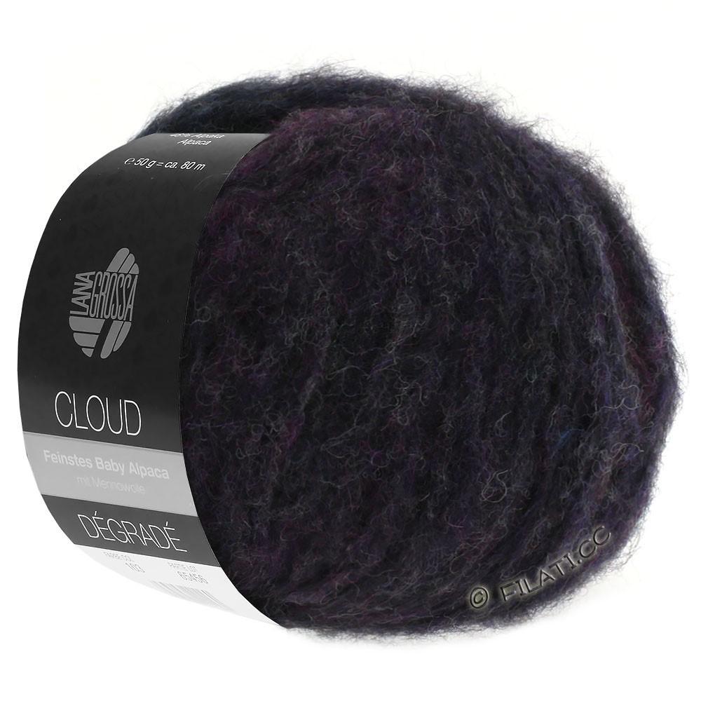 Lana Grossa CLOUD Degradé | 106-blauw violet/kaki