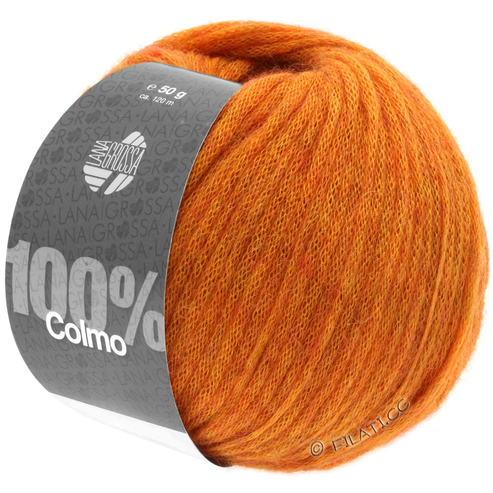 Lana Grossa COLMO   09-oranje