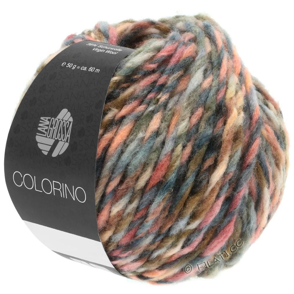 Lana Grossa COLORINO | 04-roodpaars/rose/bourgondisch/grijs