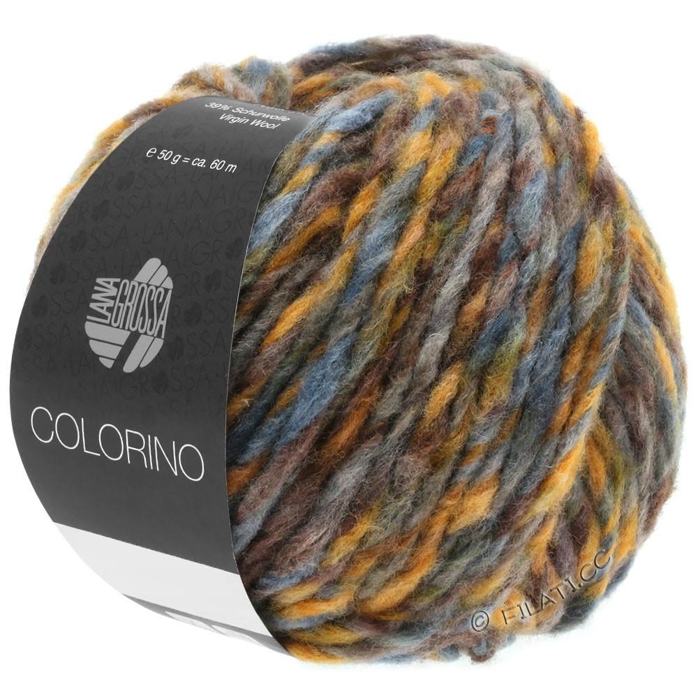 Lana Grossa COLORINO | 05-bruin/oker/grijs blauw/grijs groen