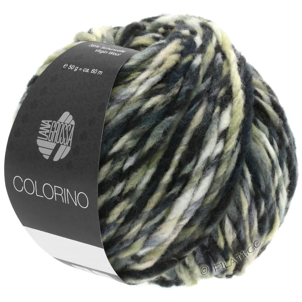 Lana Grossa COLORINO | 12-donker bruin/beige/grijs/antraciet