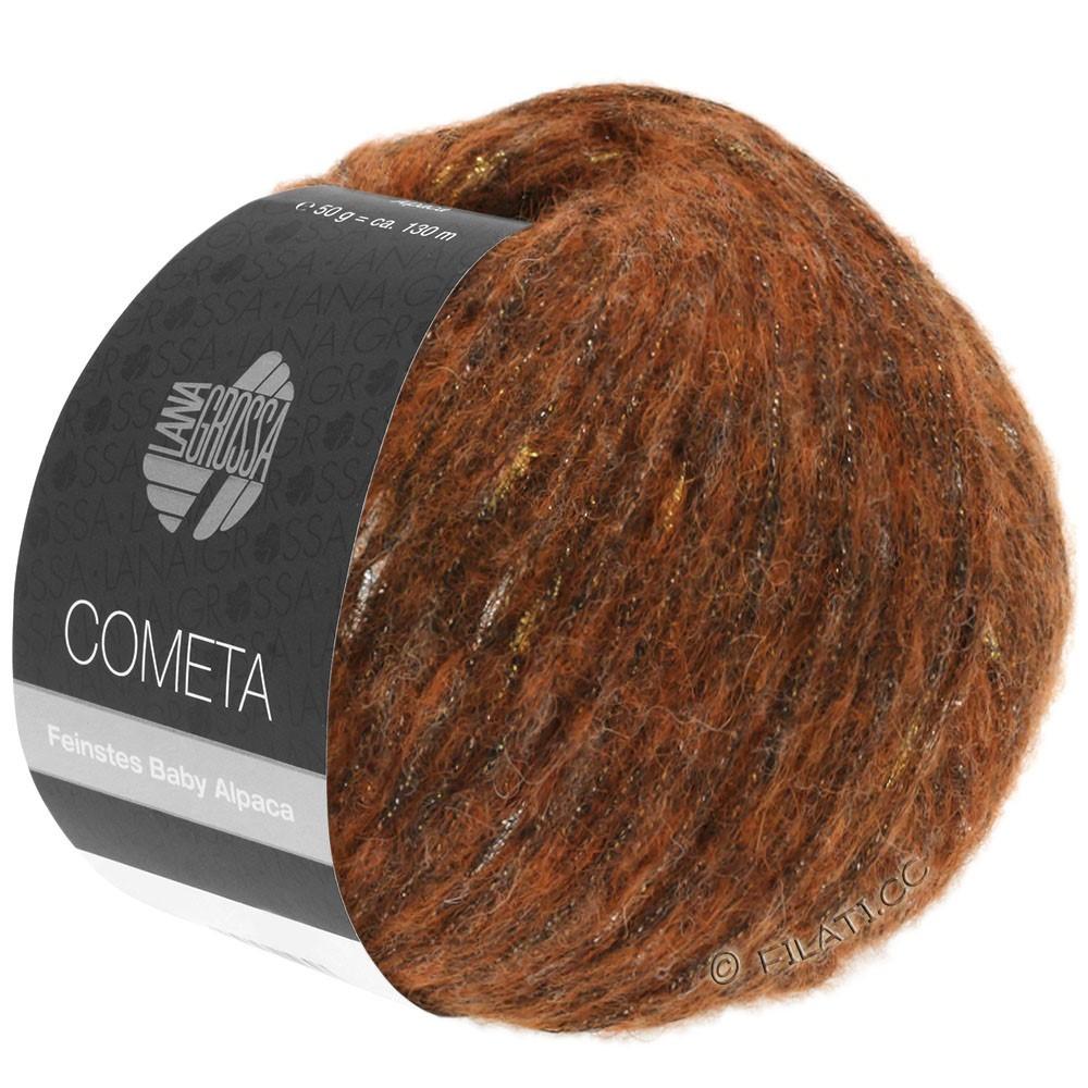 Lana Grossa COMETA | 004-koper/goud/zilver