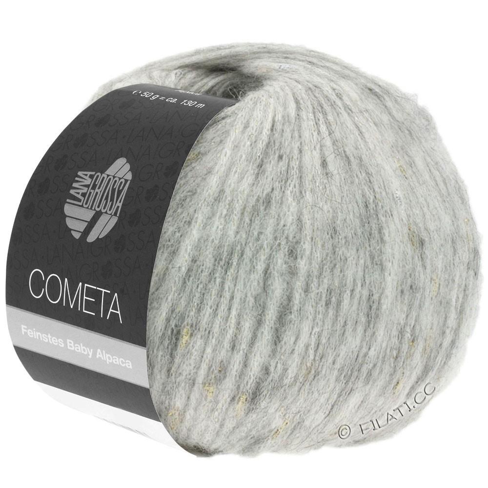 Lana Grossa COMETA | 008-zilvergrijs/goud/zilver
