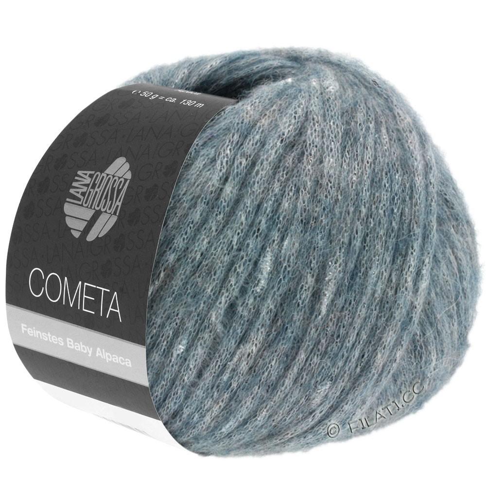 Lana Grossa COMETA | 010-grijs blauw/zilver