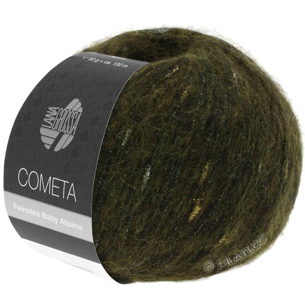 Lana Grossa COMETA | 013-kaki/goud/zilver