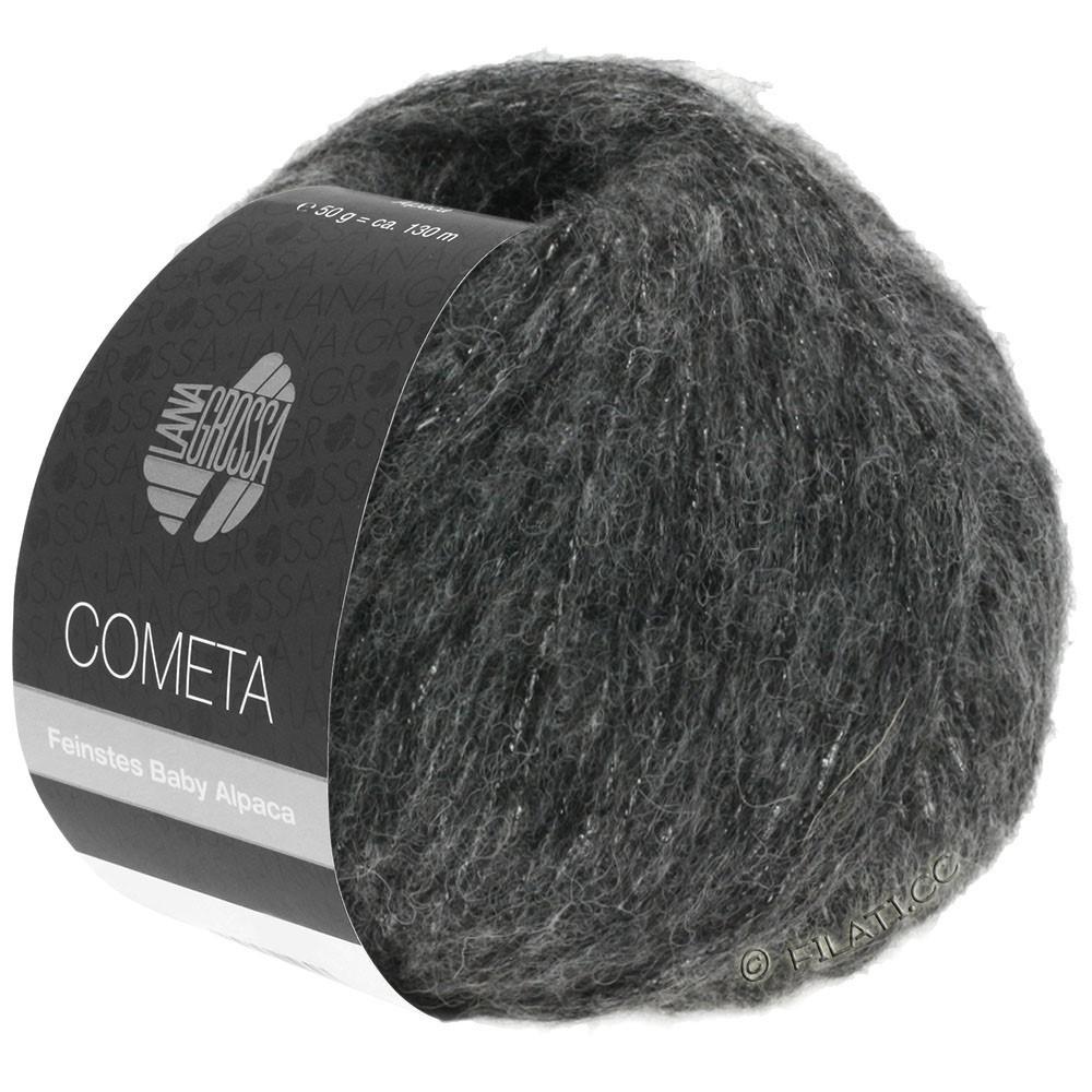 Lana Grossa COMETA | 014-donker grijs/zilver