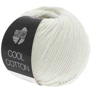 Lana Grossa COOL COTTON | 02-ruwe witte