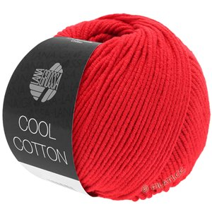 Lana Grossa COOL COTTON | 08-signaalrood