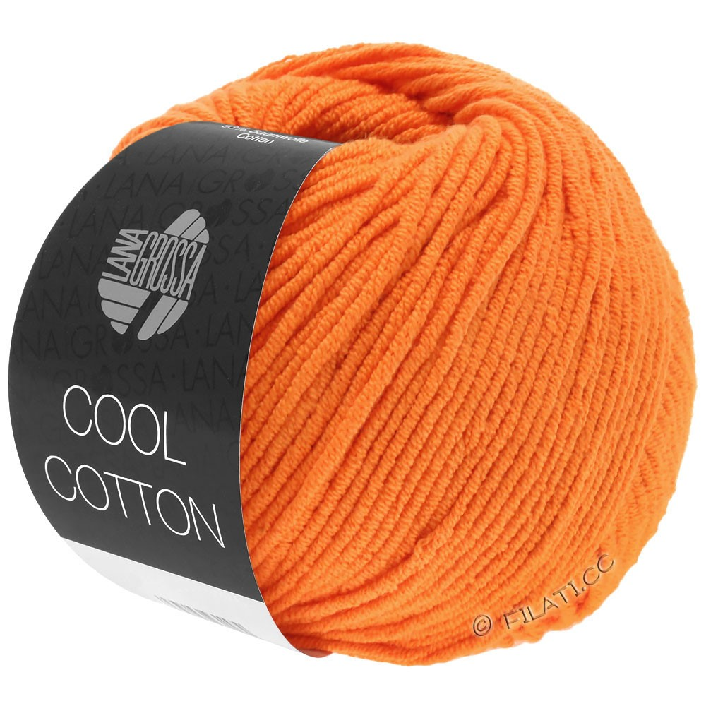Lana Grossa COOL COTTON   09-oranje