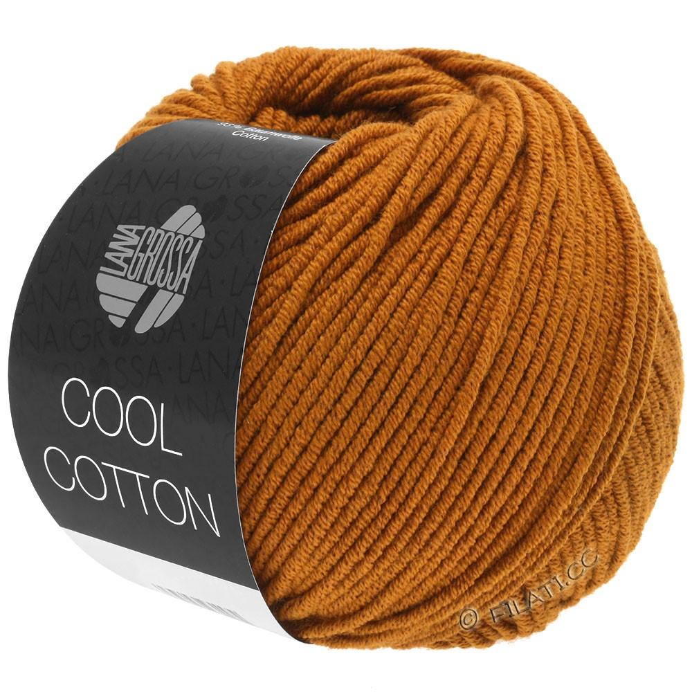 Lana Grossa COOL COTTON   11-okerbruin
