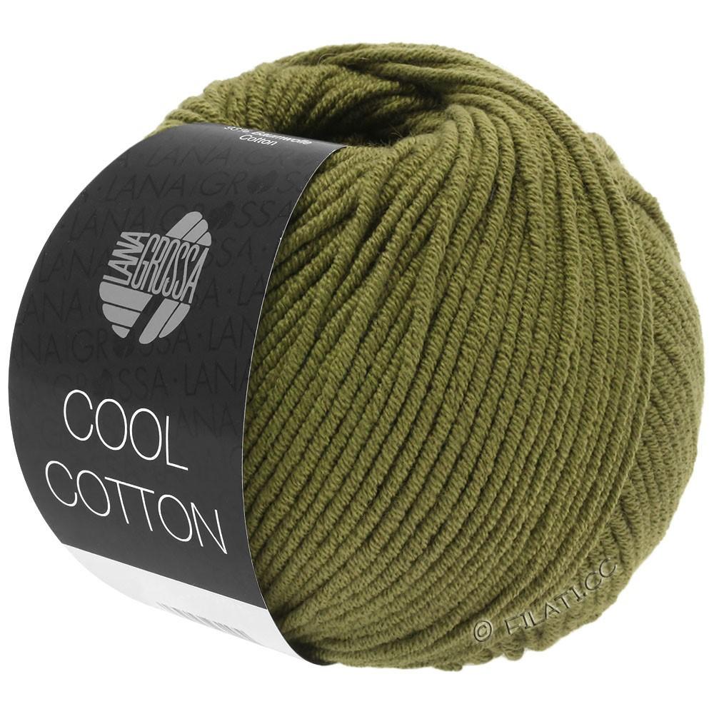 Lana Grossa COOL COTTON   12-olijf