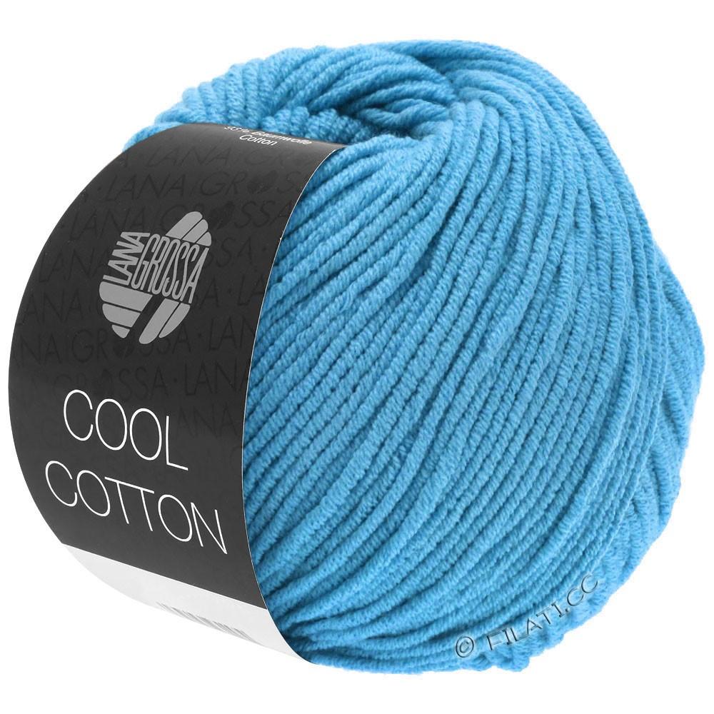 Lana Grossa COOL COTTON   15-azuurblauw