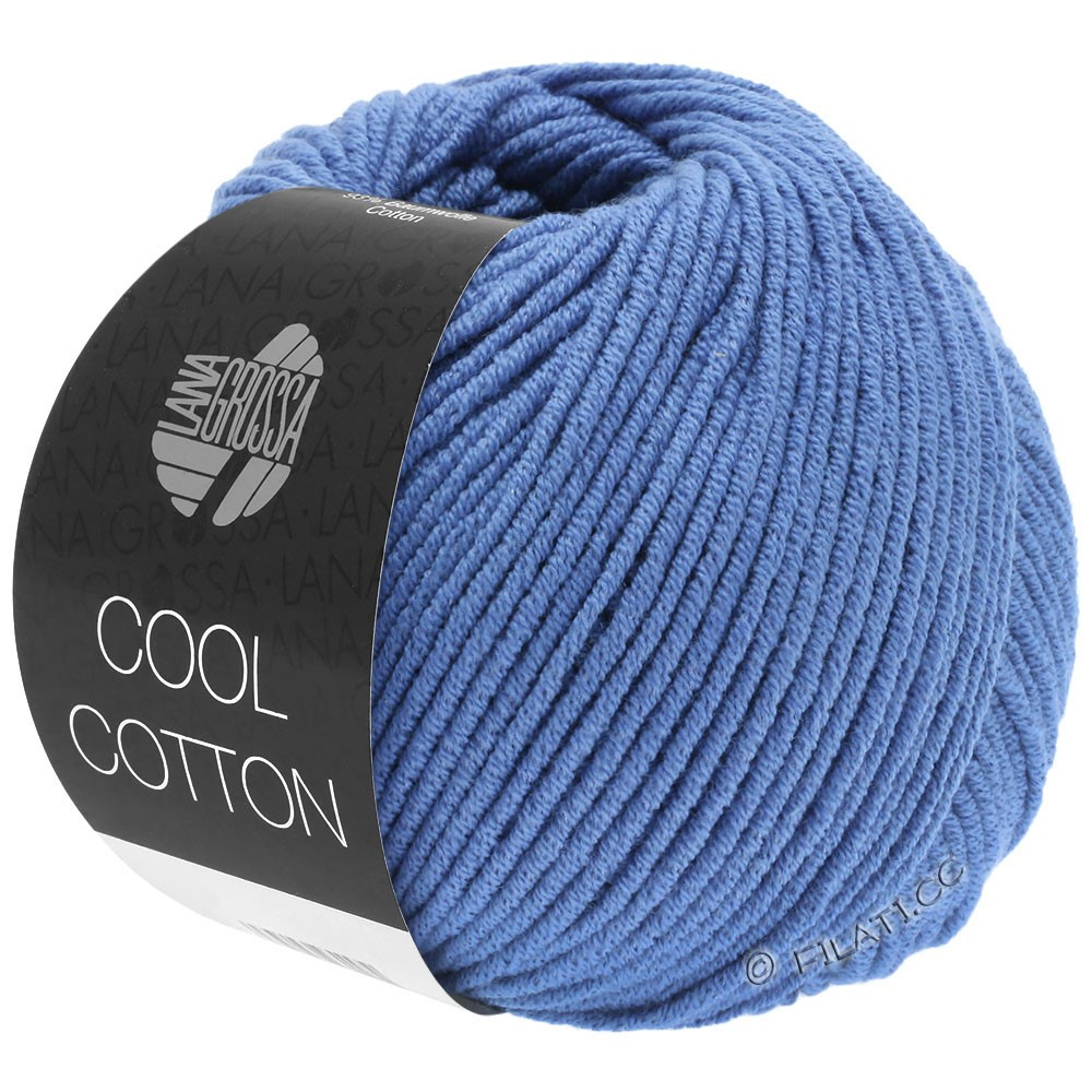 Lana Grossa COOL COTTON   16-royaal blauw