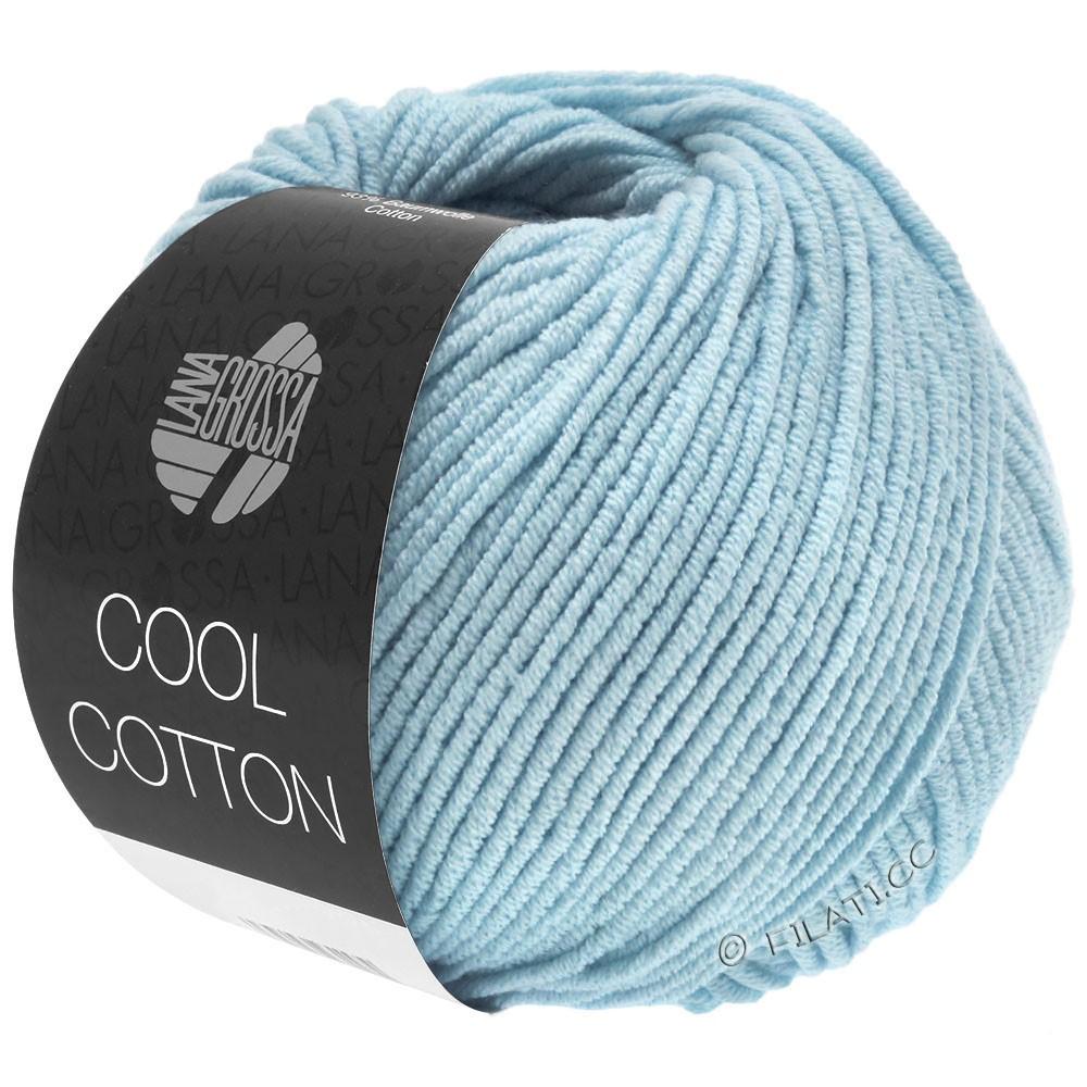 Lana Grossa COOL COTTON   18-licht blauw