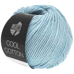 Lana Grossa COOL COTTON | 18-licht blauw