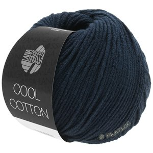 Lana Grossa COOL COTTON | 21-nacht blauw
