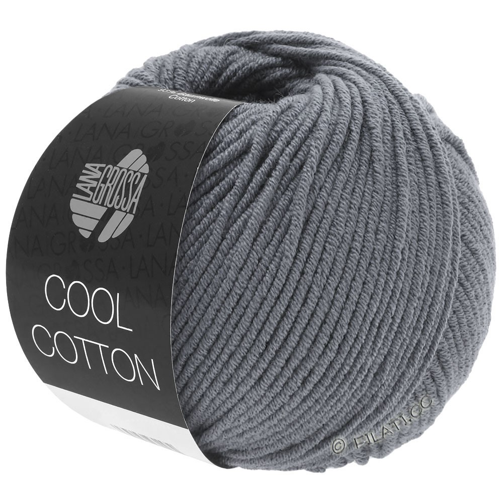 Lana Grossa COOL COTTON   22-grafiet