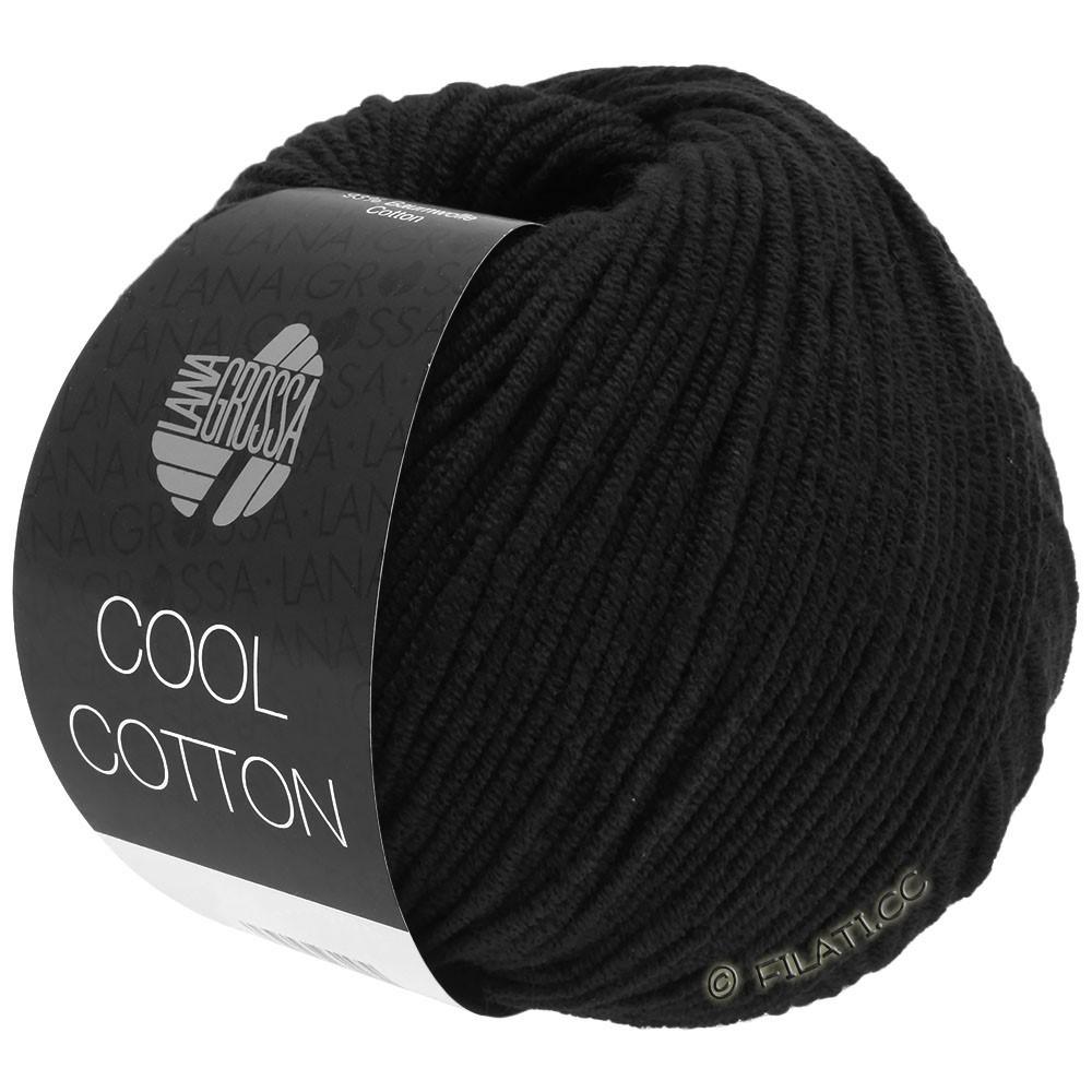Lana Grossa COOL COTTON   26-zwart