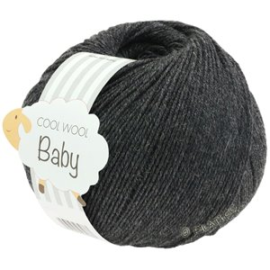 Lana Grossa COOL WOOL Baby 50g | 205-antraciet