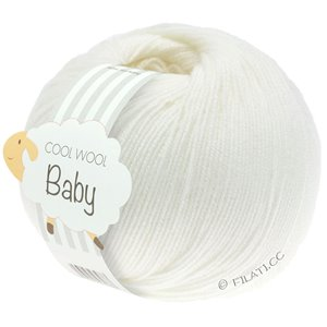 Lana Grossa COOL WOOL Baby 50g | 207-wit