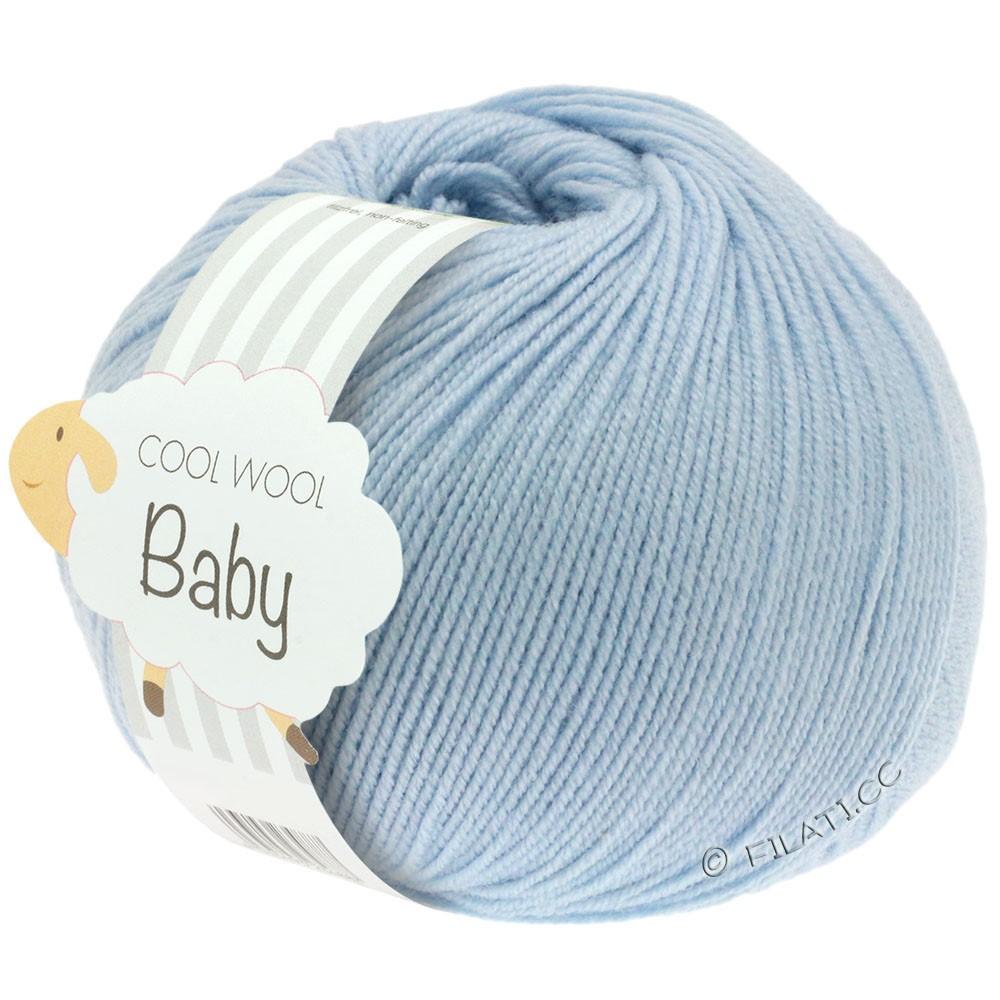 Lana Grossa COOL WOOL Baby | 208-licht blauw